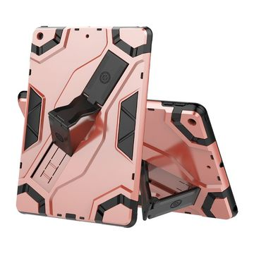"Apple iPad 10.2"" (7th gen) Armor Shield -suojakuori, Ruusukulta"