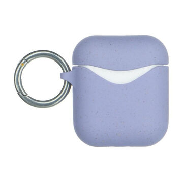 Pela Airpods 1 & 2 Eco Friendly Case -biohajoava suojakuori, Lavender