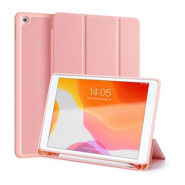 "Apple iPad 10.2"" (7th gen) Dux Ducis Domo -suojakotelo, Pinkki"