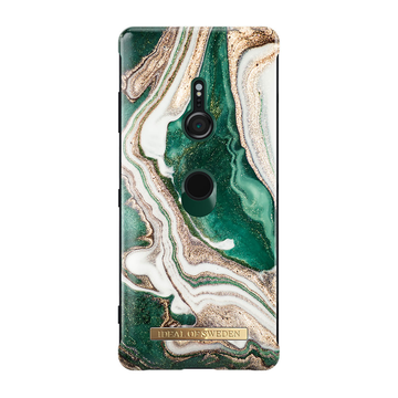iDeal of Sweden Sony Xperia XZ3 Fashion Case, Golden Jade Marble