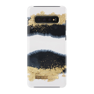 iDeal of Sweden Samsung Galaxy S10+ Fashion Case, Gleaming Licorice