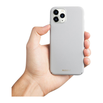 Nudient iPhone 11 Pro Thin Case V2 -suojakuori, Pearl Grey