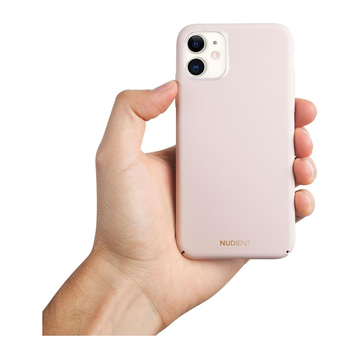 Nudient iPhone 11 Thin Case V2 -suojakuori, Candy Pink