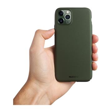 Nudient iPhone 11 Pro Max Thin Case V2 -suojakuori, Majestic Green