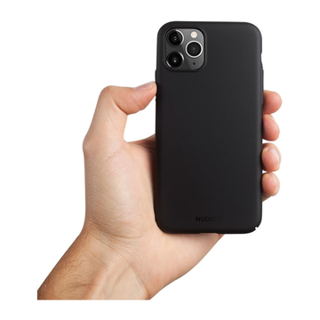 Nudient iPhone 11 Pro Max Thin Case V2 -suojakuori, Stealth Black