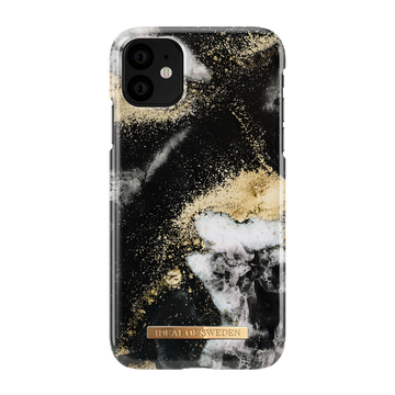 iDeal of Sweden iPhone 11 Fashion Case, Black Galaxy
