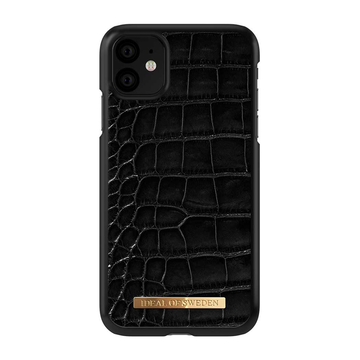 iDeal of Sweden iPhone 11 Fashion Case, Croco Saffiano