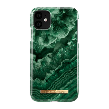 iDeal of Sweden iPhone 11 Fashion Case, Evergreen Agate