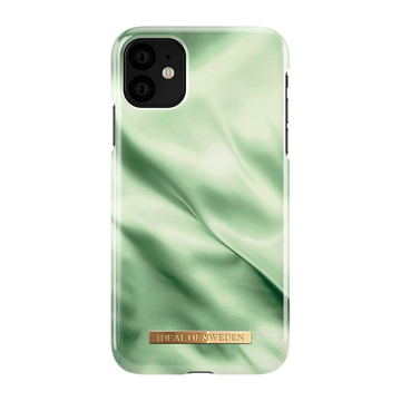 iDeal of Sweden iPhone 11 Fashion Case, Pistachio Satin
