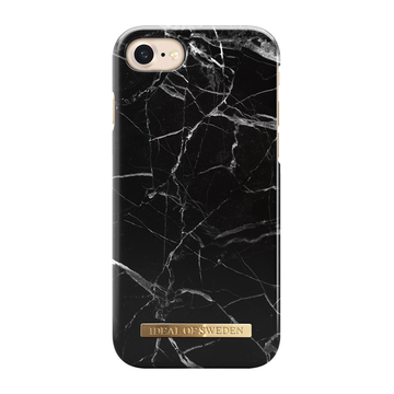 iDeal of Sweden iPhone 6 / 6S / 7 / 8 / SE 2020 Fashion Case, Black Marble