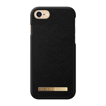 iDeal of Sweden iPhone 6 / 6S / 7 / 8 / SE 2020 Fashion Case, Black Saffiano