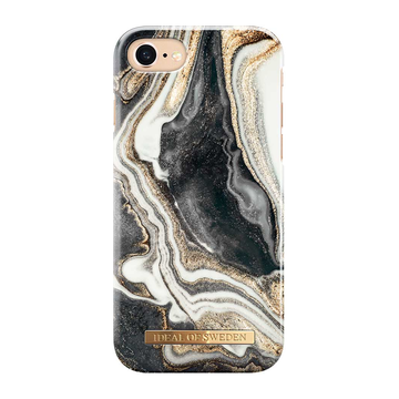 iDeal of Sweden iPhone 6 / 6S / 7 / 8 / SE 2020 Fashion Case, Golden Ash Marble