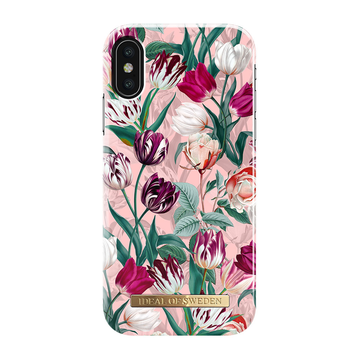 iDeal of Sweden iPhone X / Xs Fashion Case, Vintage Tulips