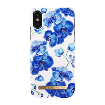 iDeal of Sweden iPhone X/ Xs Fashion Case, Baby Blue Orchid