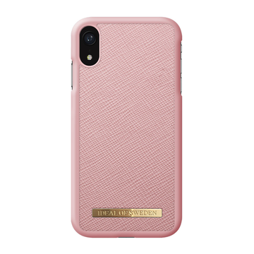 iDeal of Sweden iPhone XR Fashion Case, Pink Saffiano