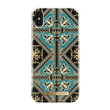 iDeal of Sweden iPhone Xs Max Fashion Case, Baroque Ornament