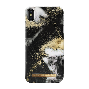 iDeal of Sweden iPhone Xs Max Fashion Case, Black Galaxy