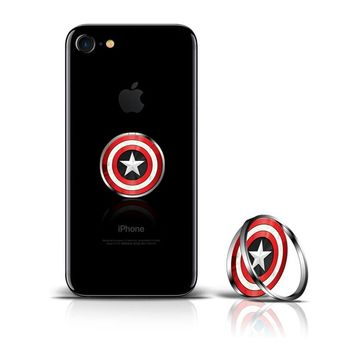 Marvel Finger Ring -rengaspidike, Captain America
