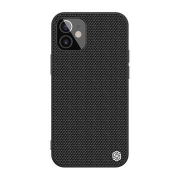 Nillkin Textured Case -suojakuori, Apple iPhone 12 Mini, Musta