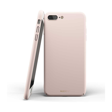 Nudient iPhone 7 Plus / 8 Plus Thin Case V2 -suojakuori, Candy Pink