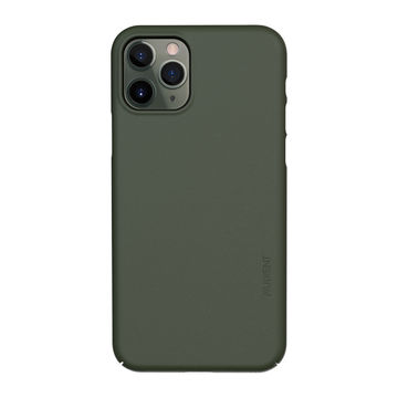 Nudient iPhone 11 Pro Thin Precise Case V3 -suojakuori, Pine Green