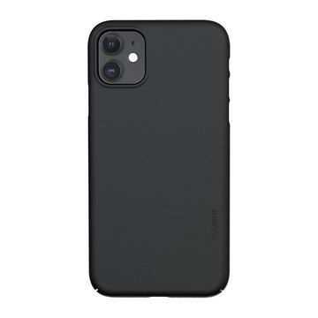 Nudient iPhone 11 Thin Precise Case V3 -suojakuori, Ink Black