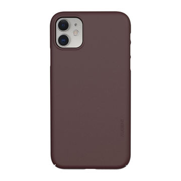 Nudient iPhone 11 Thin Precise Case V3 -suojakuori, Sangria Red