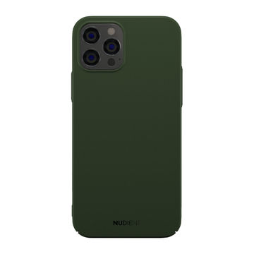 Nudient iPhone 12 / 12 Pro Thin Case V2 -suojakuori, Majestic Green