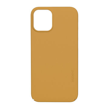Nudient iPhone 12 Mini Thin Precise Case V3 -suojakuori, Saffron Yellow