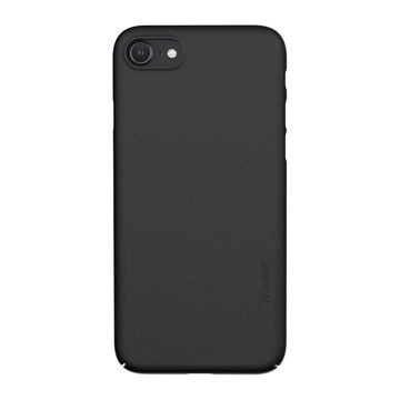 Nudient iPhone 7/8/SE 2020 Thin Precise Case V3 -suojakuori, Ink Black
