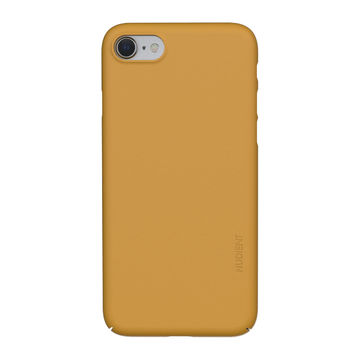 Nudient iPhone 7/8/SE 2020 Thin Precise Case V3 -suojakuori, Saffron Yellow