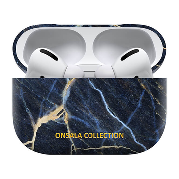 Onsala Collection Airpods Pro kotelo, Black Galaxy Marble