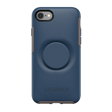 iPhone 7 / 8 / SE 2020 Otterbox Otter + Pop Symmetry -suojakuoret, sininen