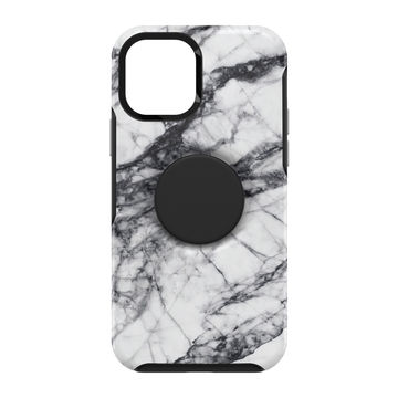 Otterbox Otter + Pop Symmetry, Apple iPhone 12 / 12 Pro, White Marble