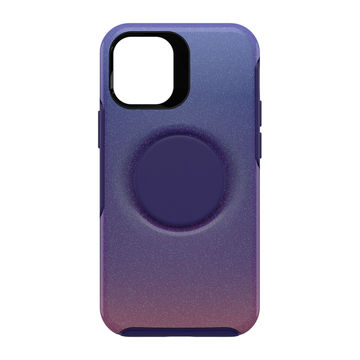 Otterbox Otter + Pop Symmetry, Apple iPhone 12 Mini, Violet Dusk