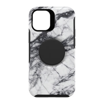 Otterbox Otter + Pop Symmetry, Apple iPhone 12 Mini, White Marble