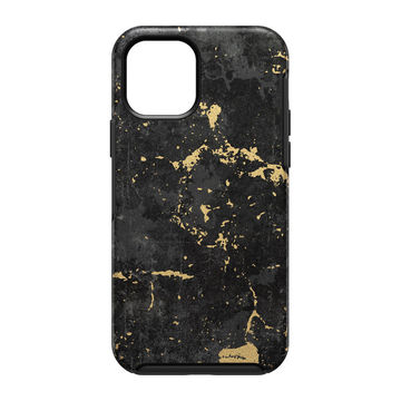 Otterbox Symmetry, Apple iPhone 12 / 12 Pro, Black Gold Enigma