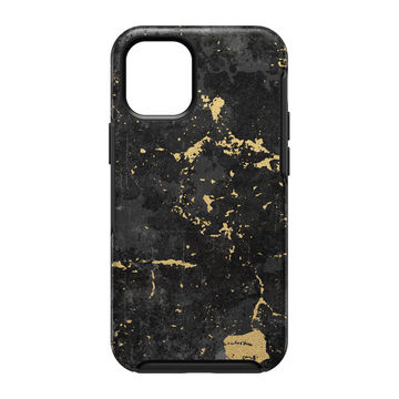 Otterbox Symmetry, Apple iPhone 12 Mini, Black Gold Enigma