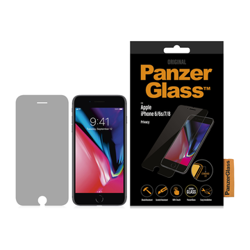 PanzerGlass iPhone 6/6S/7/8 -panssarilasi, Privacy klassinen