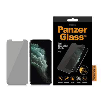 PanzerGlass iPhone Xs Max / 11 Pro Max -panssarilasi, Privacy klassinen