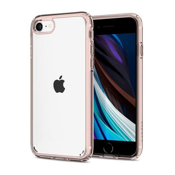 Spigen Ultra Hybrid Apple iPhone 7/8/SE 2020 suojakuori, Rose Crystal
