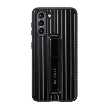 Samsung Galaxy S21 Protective Standing Cover, Musta