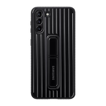 Samsung Galaxy S21+ Protective Standing Cover, Musta