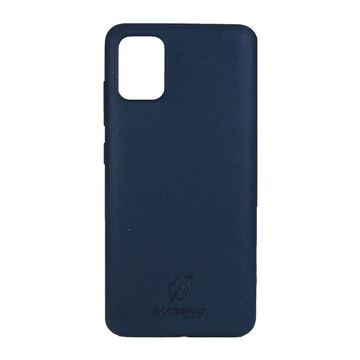 Screenor biohajoava EcoStyle Galaxy A21S -suojakuori, Blueberry Blue