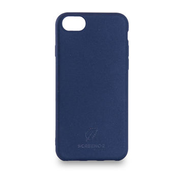 Screenor biohajoava EcoStyle iPhone 6/6S/7/8/SE 2020 -suojakuori, Blueberry Blue