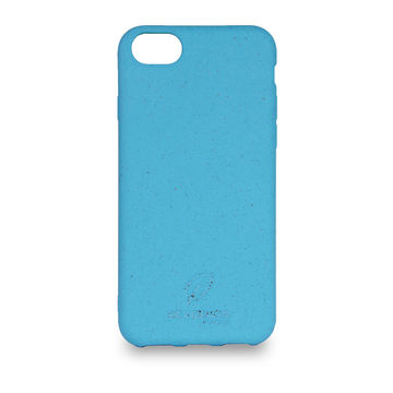 Screenor biohajoava EcoStyle iPhone 6/6S/7/8/SE 2020 -suojakuori, Cornflower Blue
