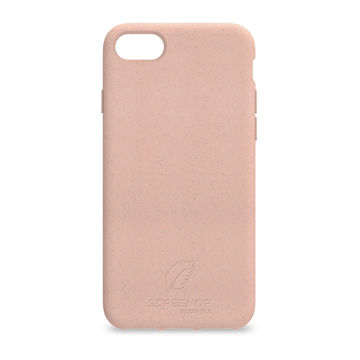 Screenor biohajoava EcoStyle iPhone 6/6S/7/8/SE 2020 -suojakuori, Rose White