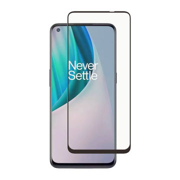 Screenor OnePlus Nord N10 Premium-panssarilasi, New Full Cover, musta