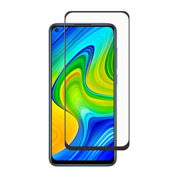 Screenor Xiaomi Redmi Note 9 Pro / 9S Premium-panssarilasi, New Full Cover, musta