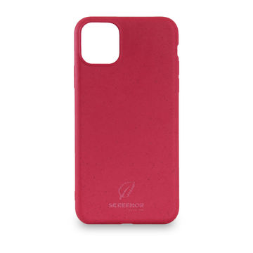 Screenor biohajoava EcoStyle Apple iPhone 12 Mini -suojakuori, Cherry Pink